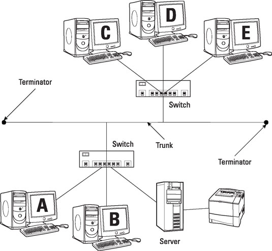 network topologies info for comptia a  certification