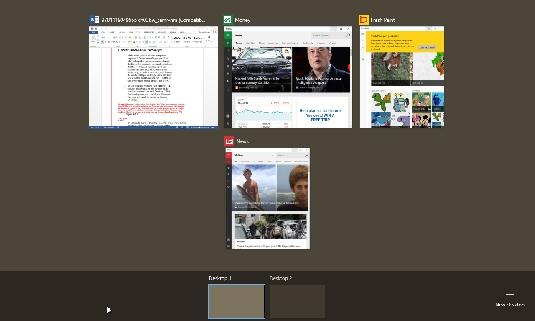 new desktop Windows 10