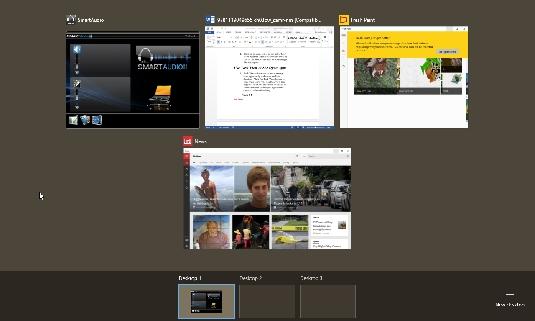 Windows 10 Task View
