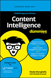 Content Intelligence For Dummies, Thron Special Edition