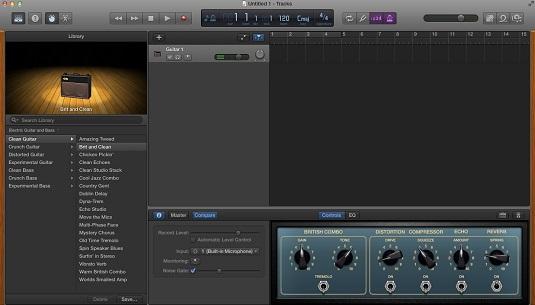 controlling a guitar mac