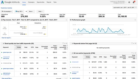 Google Adwords CRM