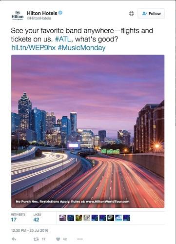 digital-marketing-hilton-hashtag