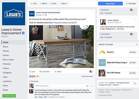 digital-marketing-lowes-facebook