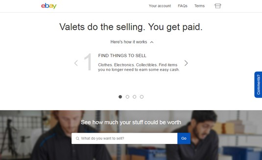 eBay's Valet program