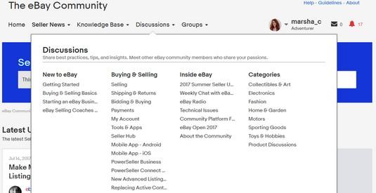 social media groups for eBay sellers