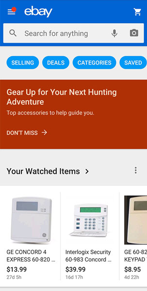 How To Use Ebay S Mobile App Dummies