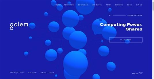 Golem website
