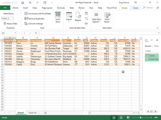 Power Query Editor Excel 2019