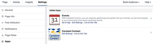 How to Add and Remove Tabs on a Facebook Page - dummies