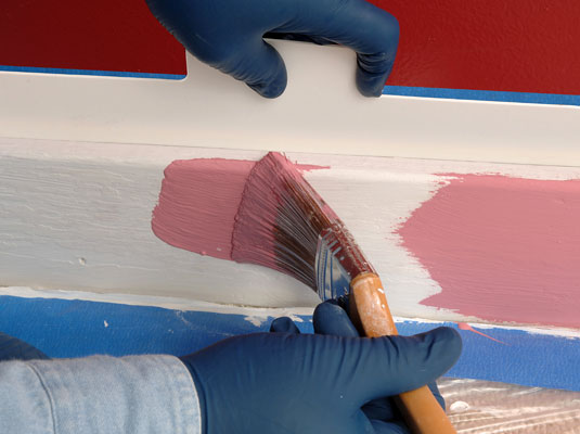 feathering paint