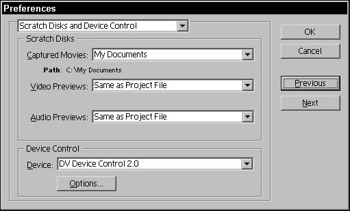Adjusting Adobe Premiere Settings Dummies