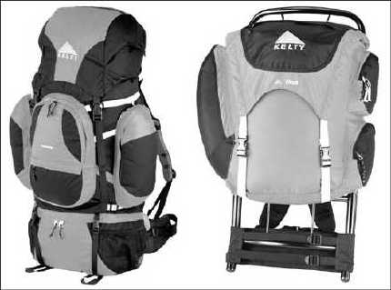 Loading Your Camping Backpack - dummies