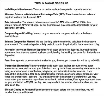 finance-disclosure