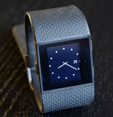 watch-style Fitbit