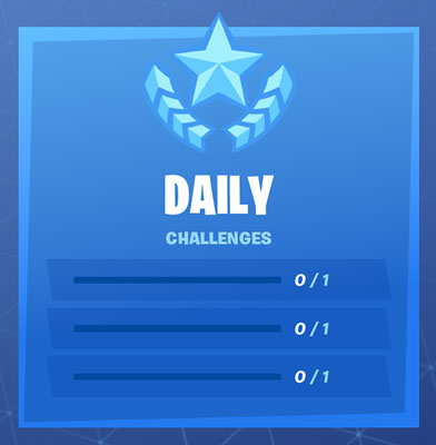 Fortnite daily challenges