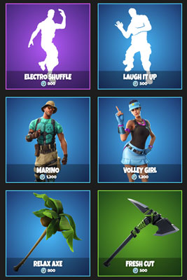 daily items in Fortnite