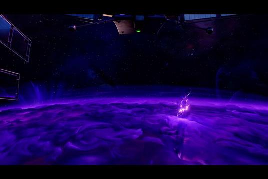 Fortnite opening scene