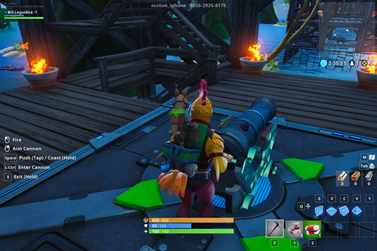 Raft Wars Fortnite Creative code