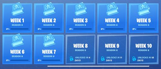 Fortnite weekly challenge