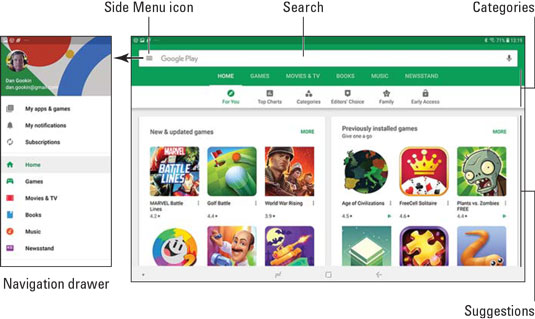 How to Browse the Google Play Store on Your Samsung Galaxy Tablet