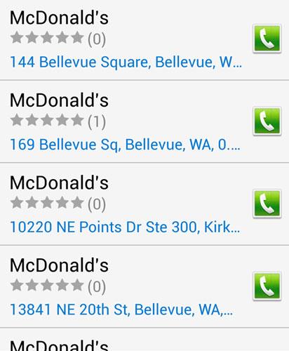 Bixby location options