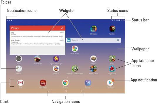 Samsung Galaxy Tabs For Dummies Cheat Sheet - dummies