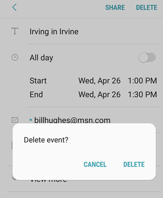 galaxys8-delete-event