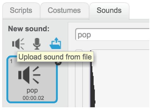 sprite sounds coding