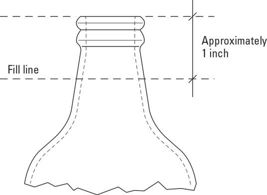 homebrew bottle level