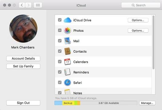 iMac iCloud