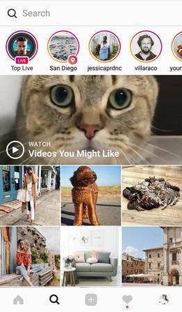 Explorepage Instagram