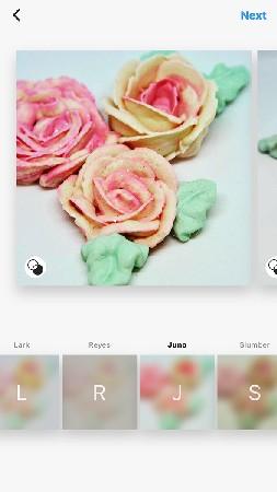 filter name Instagram