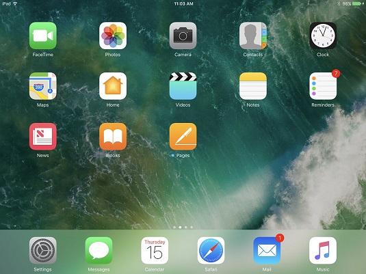 ipad-for-senrios-9e-home-screen
