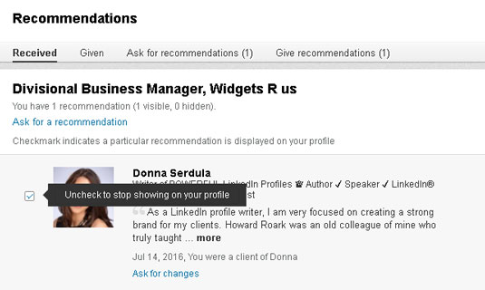 how to delete a media to linkedin profile
