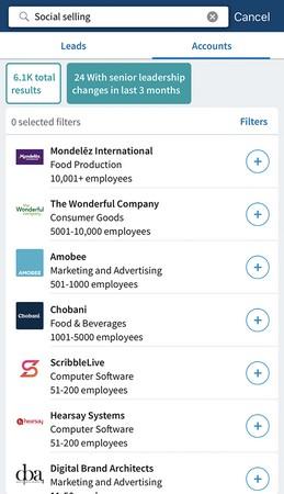 LinkedIn Sales Navigator changes