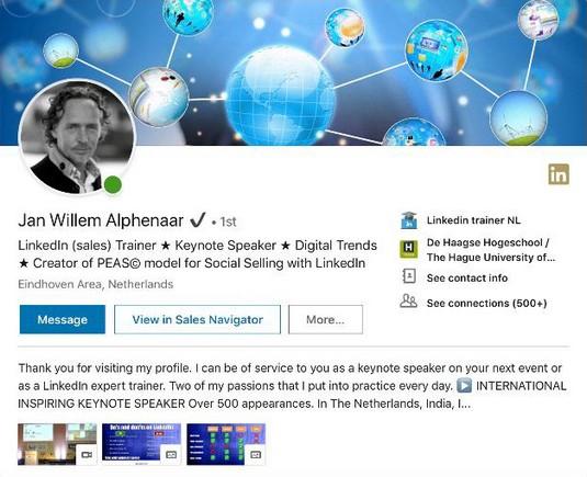 Jan Willem Alphenaar.