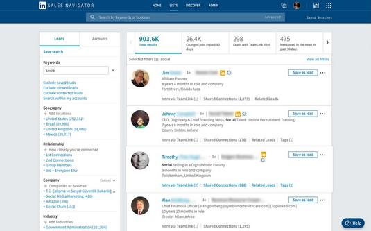LinkedIn Sales Spotlights