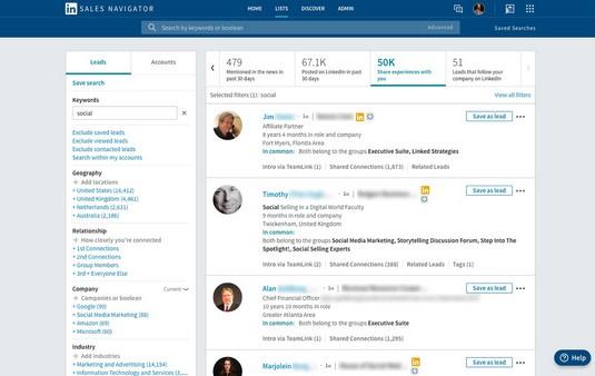 Shared experiences LinkedIn Sales Spotlight