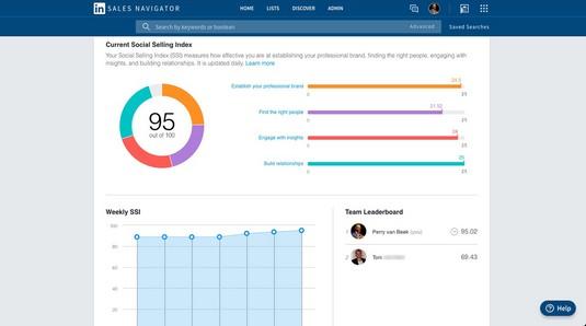 SSI LinkedIn Sales Navigator