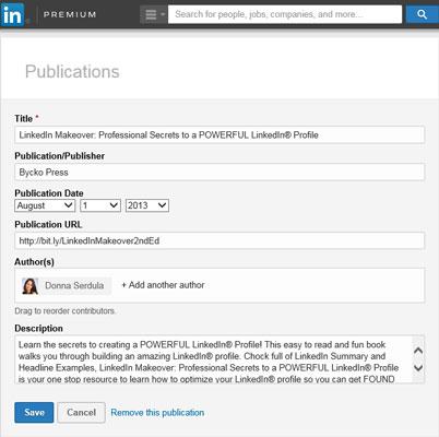linkedinprofile-publication
