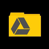Linux google drive folder