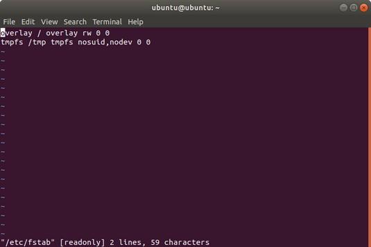 vi editor Linux