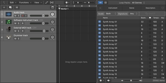 Apple loops Logic Pro X