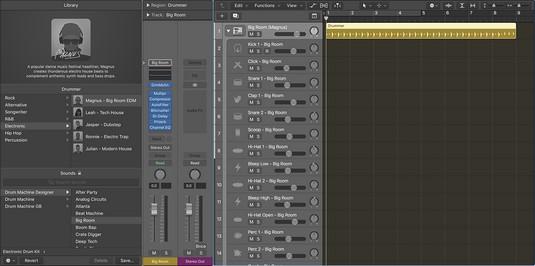 Drum Machine Designer Logic Pro X