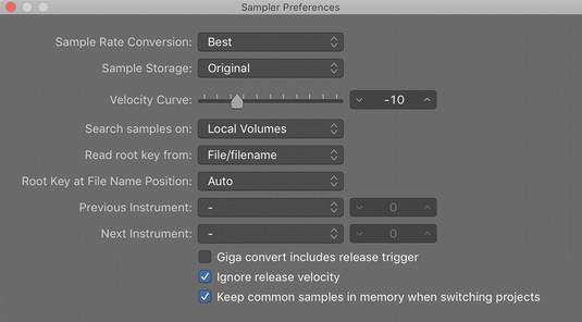 EXS24 Sampler in Logic Pro X - dummies