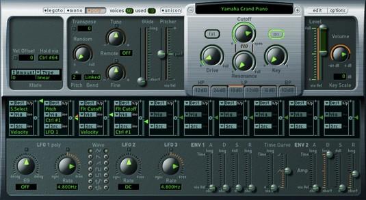 EXS24 Sampler Logic Pro X