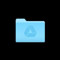 Mac Google Drive folder in finder