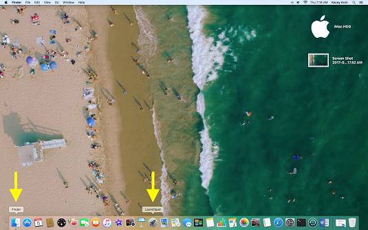 Mac utility folder