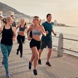 marathon training with friends